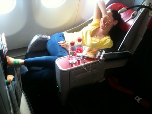 Business Class Air Asia