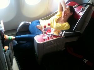 Business Class Air Asia
