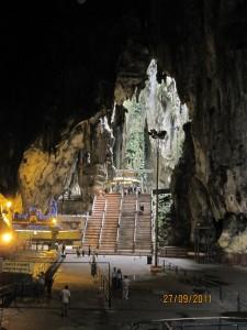 Batu Caves Light Distant