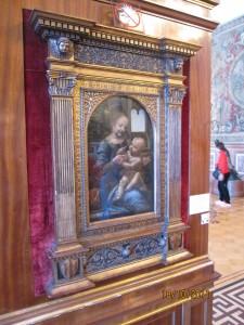 Baby Jesus and Madona