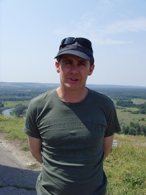 Norman Wood in the Slavyansk area of the Ukraine.