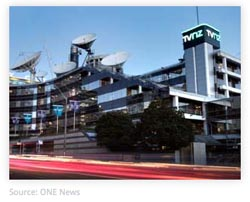 Head office of TVNZ Television New Zealand Auckland New Zealand