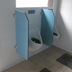 Interior Chinese Public Toilet