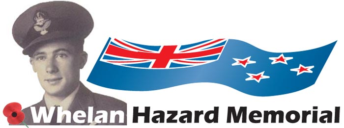 Whelan Hazard Banner for Memorial Page